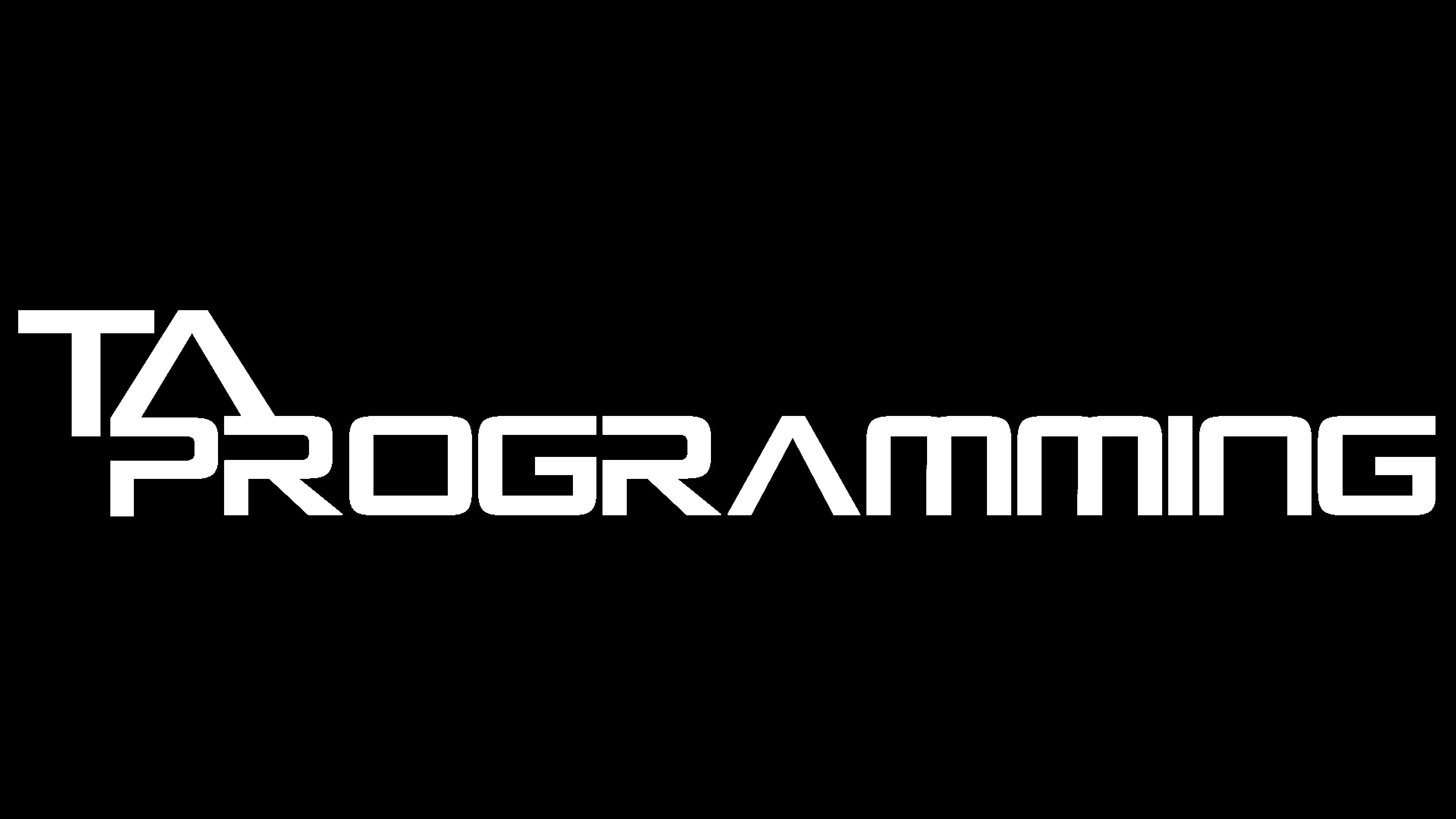 TA Programming